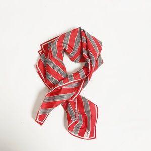 vintage stripe scarf